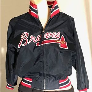 Authentic Majestic vintage Atlanta Braves jacket